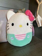 "Squishmallows Hello Kitty Teal Sanrio 8 inches Nwt 2021 8"" Squishmallow"
