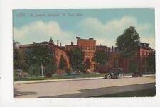 St Josephs Hospital St Paul Minn Vintage Postcard Usa 511a