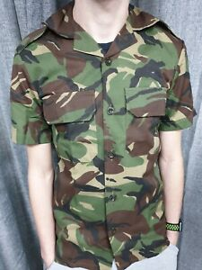 Genuine South African Army Military DPM Camo Shirt Military Camouflage Jacket
