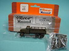 Roco Minitanks 605 CCKW 353 + Kran - 1:87 /TOP+OVP