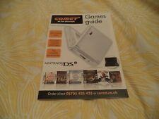 RARE Jeu Vidéo/Brochure/Catalogue 2009 doit voir