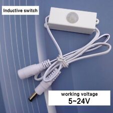 DC5-24V Mini Auto PIR Motion Infrared LED Light Strip Sensor Detector Switch