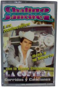 CHALINO SANCHEZ Las Adulaciones CASETTE TAPE 1992 Norteno Narco Corridos RARE !