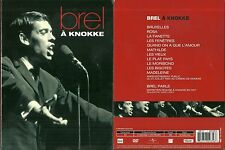 DVD - JACQUES BREL : EN CONCERT A KNOKKE / COMME NEUF - LIKE NEW