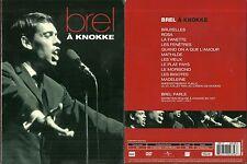 DVD - JACQUES BREL : EN CONCERT A KNOKKE / COMME NEUF - LIKE NEW