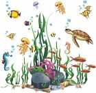 3d Ocean Decalsremovable Diy Stickers For Living Room Nursery Home Decoration