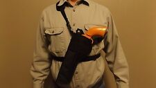 """LEFT Hand Shoulder CHEST Holster SMITH & WESSON S&W 500 w/ 6-1/2"""" barrel ...USA"""