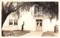 California Ca Real Photo RPPC Postcard c1930s CLAREMONT Pomona College Blaisdell