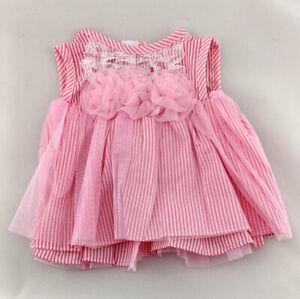BERENGUER LA NEWBORN PINK DOLL CLOTHES DRESS