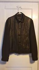 Versace black leather jacket pristine never worn