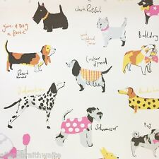 It's a Dogs Life Wallpaper by Coloroll - Multi M1037