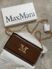 Max Mara Croc Wallet Bag, Crossbody/ Clutch Style, New Season