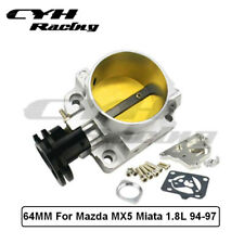 64MM Aluminum Intake Manifold Throttle Body For Mazda MX5 Miata 1.8L BP-ZE 94-97