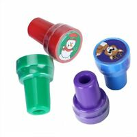 4pcs Ink Stampers Art Craft Stamps w/ Christmas Theme HY