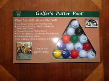 2000 Golfers Putter Pool Indoor Golf Game Dennco Model # 9531 New In Box