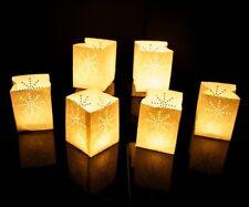 24 x Candle Bags - Medium Size - White - Candle Luminary Lanterns
