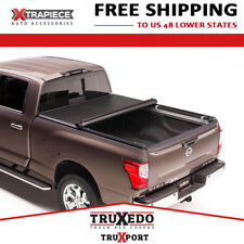 TruXedo TruXport RollUp Cover Fit 16-18 Nissan Titan 5.5' Bed w/ RailSystem