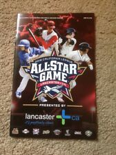 2018 All Star Game Program California League Single A Baseball