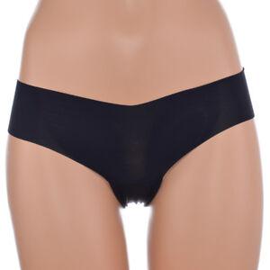 Naturana Slip mit nahtlosen Abschlusskanten schwarz