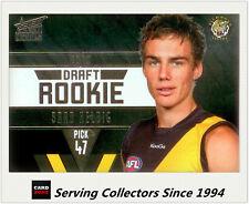 2011 Select AFL Infinity Draft Rookie Card DR22 Brad Helbig (Richmond)