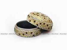 Trinket Wedding Ring Box. Snuff/Pills Case Girly Fairy Princess Jewelry Box