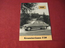 1961? Saab Sales Brochure Booklet Catalog Old Original