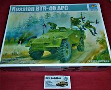 russian Transpoprtpanzer BTR-40 APC in  1:35 Trumpeter 05517 Neu