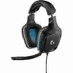 Logitech G432 DTS X 7.1 Surround Sound Wired PC Gaming Headset