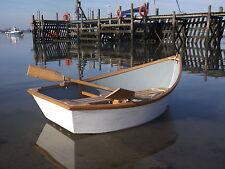 Fibreglass & Oak 6 Foot Rowing Boat