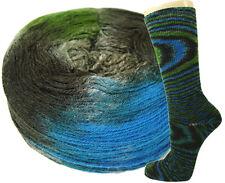 Schoppel Wolle Fliegende Untertasse 100g Unikate Farbe 2114 Planet Kiwi