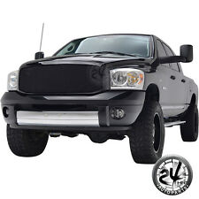 Black Stainless Steel wire Mesh Grille with shell for 06-08 Dodge Ram 1500/2500
