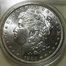 1883-O Morgan Silver Dollar - STUNNING ENCASED COIN !!