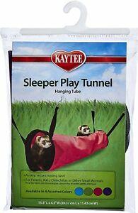 Kaytee Sleeper Play Tunnel, Hanging Tube - GREEN