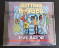 GETTING BIGGER Dave Kinnoin CD 2009 New 14 Songs For Kids FREE SHIPPING Sealed
