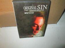 ORIGINAL SIN rare dvd Mafia Underworld Abduction CHARLTON HESTON 1988