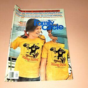 Vintage 1977 Family Circle Magazine King Kong Iron On Transfer