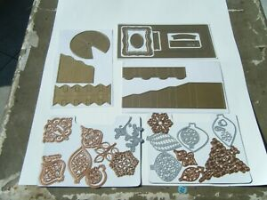 Anna Griffin    HUGE LOT OF DIE CUTS