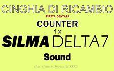 """★CINGHIA DI RICAMBIO """"CONTATORE"""" 1 x PROIETTORE SILMA DELTA 7 SOUND★"""