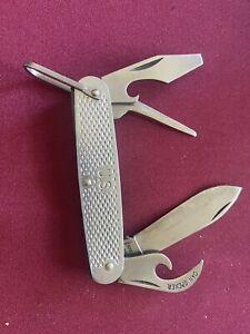 vintage camillus us pocket knife military 1990