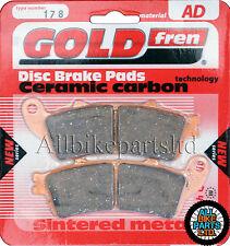 SINTERED REAR BRAKE PADS For: HONDA PAN EUROPEAN ST 1300 (2010-2011) ST1300