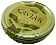 125 G (100 / 76 €) Storione Caviale Cupido Royal Malossol Acquacoltura Dose Huso