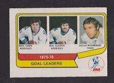 1976-77 OPC O PEE CHEE WHA  # 1  GOAL LEADERS  NRMT   INV A3793