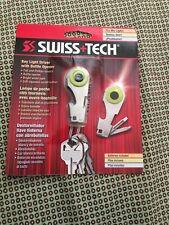 Swiss+Tech Key Chain Light Bottle Opener Screwdrivers