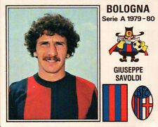 FIGURINA CALCIATORI 1979-80 N° 50 - BOLOGNA - GIUSEPPE SAVOLDI -  32-139