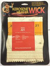 Kerosene Heater Wick #21 - Brand New in Original Packaging