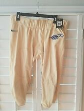 Nike Stock Performance Adult Football Pants  MSRP $60 gold 2XL