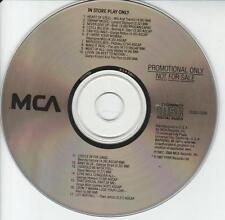 MCA In Store Play Only PROMO MUSIC AUDIO CD Jody Watley, Gladys Knight, Skynyrd