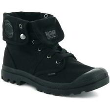 Palladium Pallabrouse Baggy Mens Canvas Combat Roll Down Ankle Boots Size 8-11