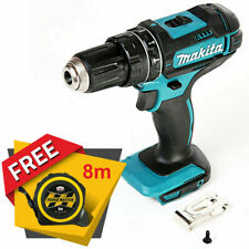 Makita DHP482 18V LXT Cordless Combi Drill + Free Pocket Tape Measures 8M/26ft