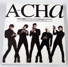 Super Junior - A-CHA (Vol.5 Repackage version-C) CD+Photo Booklet+Gift Photo